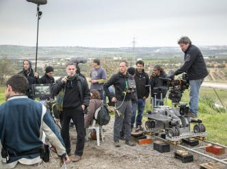 Tournage du film Rabin, the Last Day (2015) – Amos Gitaï