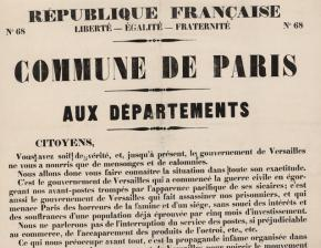 Affiche de la Commune de Paris