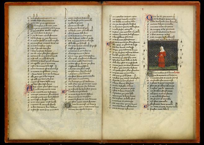 Le Livre A Feuilleter Roman De La Rose Bnf Site